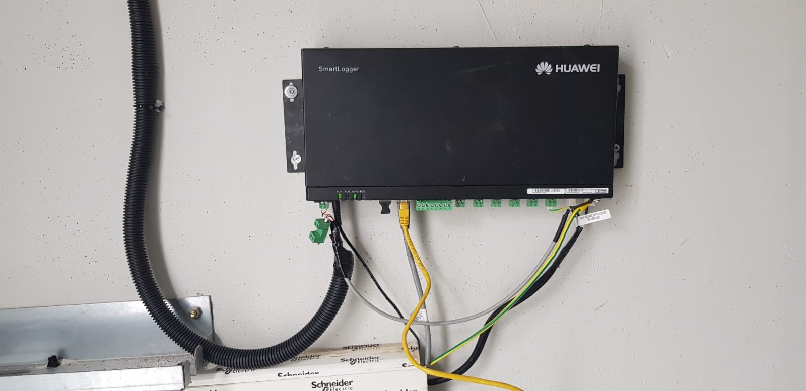 Huawei Smartlogger 2000 connections