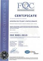 iso9001-argesim-dis-ticaret