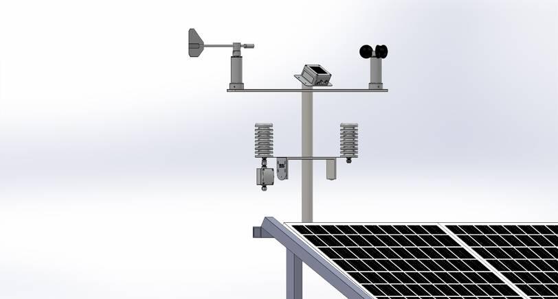 seven sensor weather station